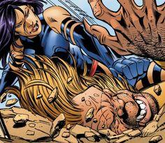 Psylocke vs Sabretooth