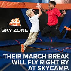 March Break Camp Guide for Durham Region and Toronto area kids Tennis Camp, Sky Zone, New March, Camp Counselor, Durham Region, Day Camp, Under The Lights, Communication Skills, Business For Kids