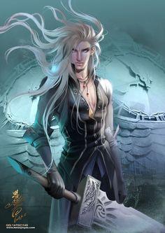 Liventain, Faernar dragão de cristal.