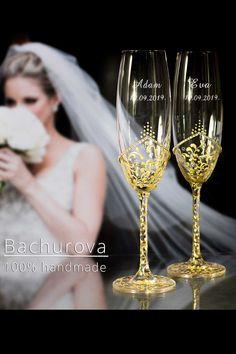 Svatební skleničky Flute, Champagne, Flutes, Tin Whistle, Transverse Flute