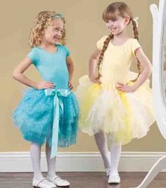 Love these no-sew & low-sew #tutus! Find out how to make them :)