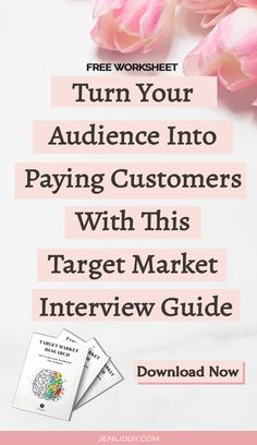 Do you struggle to think of new marketing ideas? Does a social media strategy sound overwhelming? Take advantage of this free printable download and video training that will help you find motivation to grow your business. It's like a mini-course that will give you access to my secret weapon I give all my private clients. It's all about finding your target market by using your audience, friends, Interview Guide, Get What You Want, Market Research, Marketing Ideas, Growing Your Business, Friends Family, Get Started, Weapon, Free Printables