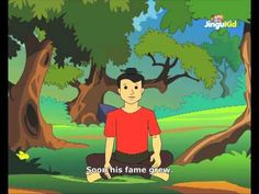 Fabulous Folk Tales - The Boy & The Magic Brush - Kids Animation Stories