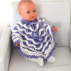 Crochet Baby Poncho, Crochet Toddler, Crochet Girls, Knitted Poncho, Toddler Poncho, Girls Poncho, Purple Outfits, Girl Outfits, Hooded Poncho Pattern