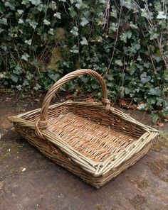 Flower gatherer basket by John Cowan Baskets