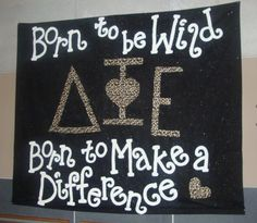 Born to be wild. DPhiE,. Born to make a difference <3 Love this!