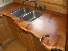 Wow! Add an farmhouse apron sink and it's perfect!