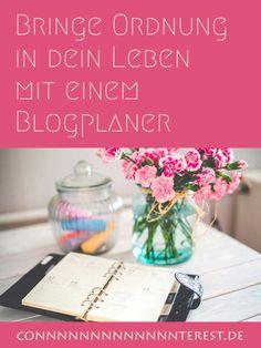 Blogplaner  Bringe Ordnung in dein Onlineleben — Conterest Blog  [Archiv]