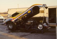 """Tom """"Mongoose"""" McEwen's English Leather Corvette at Green Valley Raceway, Texas in June 1977."""