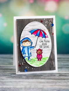 Houses Built of Cards: Rain or Shine - Sparkle and Shine Challenge