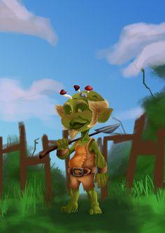 Levy, the garden Troll.