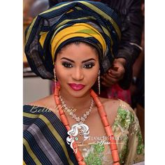 Khadijah Ahmadu Ali & Prince Abdulmalik Ogohi's Grand Wedding ❤️ 1st Photos on www.bellanaija.com/weddings!  Makeup: @FlawlessFacesByJane Photos: @TuBillion