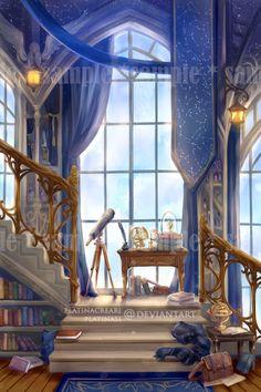 Ravenclaw House by PlatinaSi on DeviantArt Arte Do Harry Potter, Images Harry Potter, Harry Potter Room, Harry Potter Houses, Harry Potter Aesthetic, Harry Potter Fan Art, Harry Potter Universal, Harry Potter Fandom, Harry Potter Library