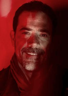 Negan... and those damn bedroom eyes of his. Can't help but find him attractive, even though I hate him at the same time. Lol!
