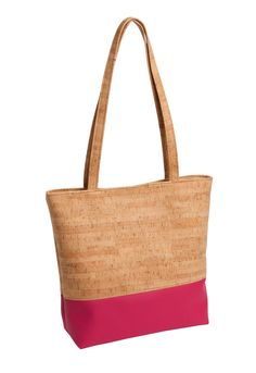 aea8cc735b91 Cork material combined with organic cotton and faux leather says its  durable   eco responsible. Beautifully made by Natalie Therese found at ...