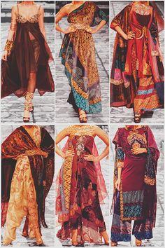 betweenthesaharaandthesea:  Collections that Leave You Breathless—>Suneet Varma |India Bridal Fashion Week|2013 The Golden Bracelet