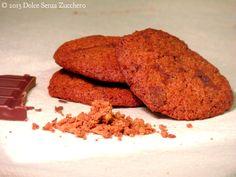 Biscotti Cocco e Gocce di Cioccolato   Dolce Senza Zucchero