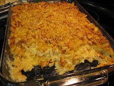 Made this twice & its a huge hit yummy as hell cheesy hashbrown potatoes
