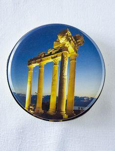 Side Apollon Tapınağı Desenli Kutulu Doğal Sabun - MCB Gift