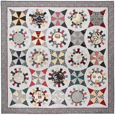 All Geared Up quilt pattern by Whimsicals