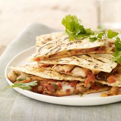 Fast & Easy Dinner: Chipotle Pork Quesadillas