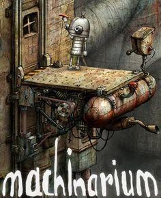 Machinarium image by vjlethal - Photobucket