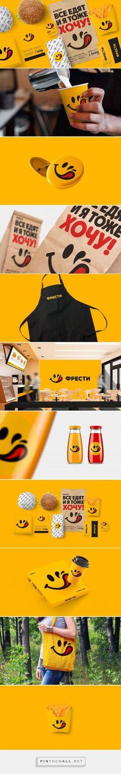Fresty Fast Food Restaurant Branding by Konstantin Polyakov | Fivestar Branding Agency – Design and Branding Agency & Curated Inspiration Gallery