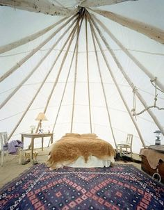 Luxury Camping: Dunton Hot Springs | Apartment Therapy