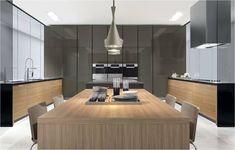 Simple Cocina de dise o Gunni u Trentino design kitchen