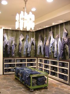 diesel (bluewater) - jeans hang like a butchers shop