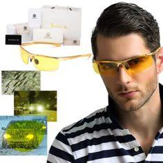 e84abdab70e Soxick Men s HD Polarized Night Driving Glasses Sports Sunglasses