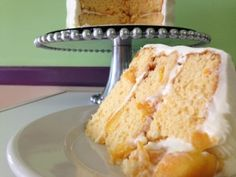 Once again, it's Taste Test Tuesday! Our cake of the week is our Peach Layer Cake; moist cake layers filled with fresh Peaches and surrounded with our Cream Cheese Frosting. The only thing that needs to be said about this delicious cake is that it's a tasty summertime treat that we know you'll enjoy. Stop in today and let us know what you think!