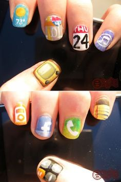 iphone app nails!! I think yes!!