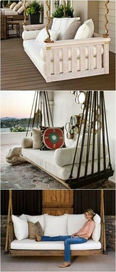 DIY Pallet Furniture - Patio Furniture Sectional | Pallet Sofa | Pallet Chair | DIY Furniture | DIY | Outdoor Living | Home Decor