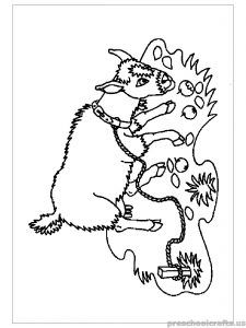 free printable goat coloring pages for primaryschoolers