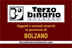 Oggetti e animali smarriti in provincia di Bolzano