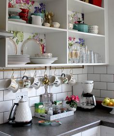 Stylish Storage | DIY your way to a tidier kitchen.