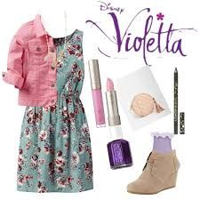 To Violetta By Carinabertoloni On Polyvore Style