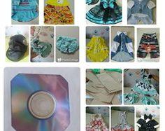 Molde de roupa p/ cachorros com DVD