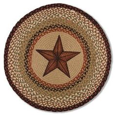 Elegant Texas Star Rug And Tips For Decorating Texas Style.