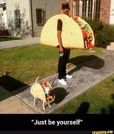 Best Taco costume ever! Lol