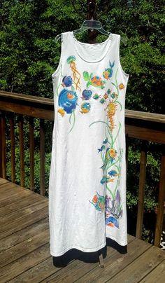 Seahorse Turtle Fish Sleeveless Dress for by DeborahWillardDesign, $68.00