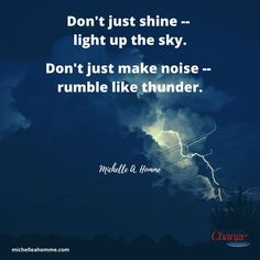 Let people see your light just as they hear you rumble. Dance Quotes, All Quotes, Life Quotes, Thunder Quotes, Poem Types, Cheer Dance, Life Is Tough, Simple Words, All You Can