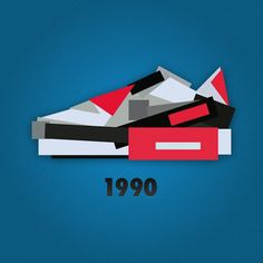 Minimalist Nike Sneaker Illustrations by Jack Stocker | HiConsumption