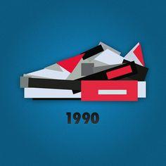 Minimalist Nike Sneaker Illustrations by Jack Stocker (3)