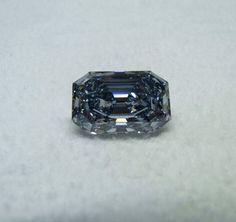 18 carat FANCYS Color Type A Intense Blue Diamond