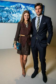 Palermo and Johannes Huebl at the launch of Montblanc's new watch collection at SIHH 2013 in Geneva, Switzerland