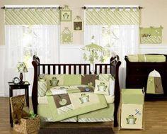 Habitación moderna para el bebé