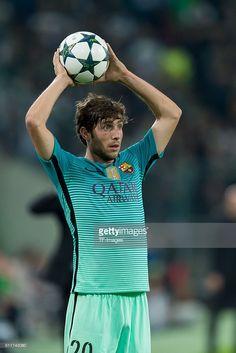 Moenchengladbach, Germany , UEFA Champions League - 2016/17 Season, Group C - Matchday 2, Borussia Moenchengladbach - FC Barcelona, 1:2, Sergi Roberto