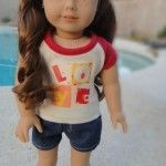 Free Patterns for American Girl Dolls - Costumes, shorts, skirts, panties, shirts, pjs, etc.